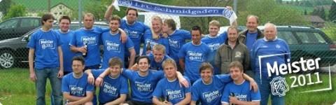 Meister 2011 - 1. FC Schmidgaden e.V.